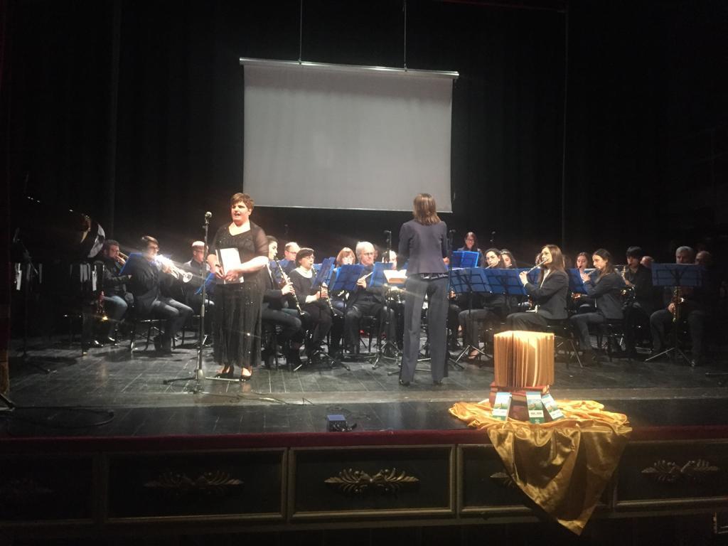 Anita Varriale soprano - Concert Band Città di Potenza