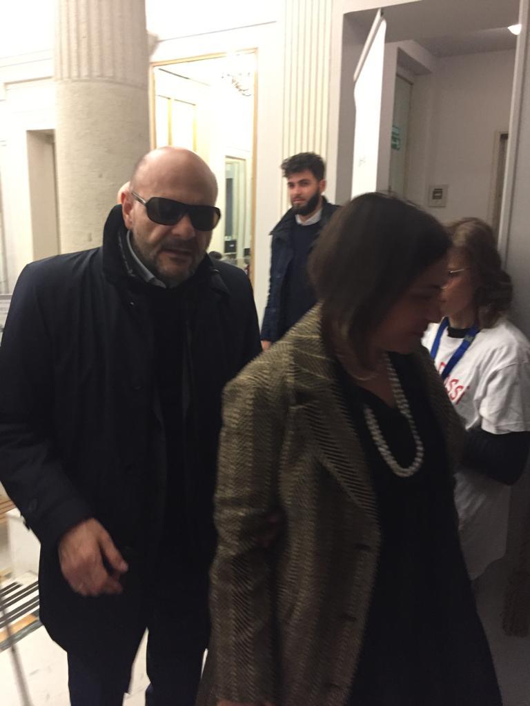 Il Presidente Nazionale e Linda Legname