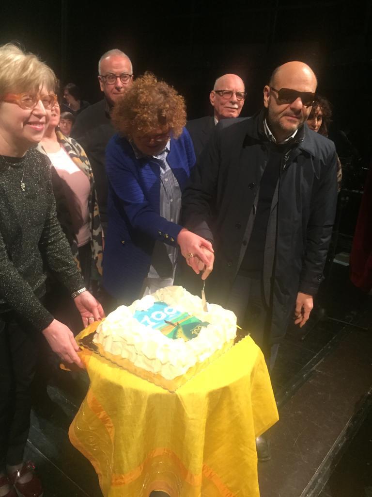Il Presidente Nazionale taglia la torta del Centenario foto 1
