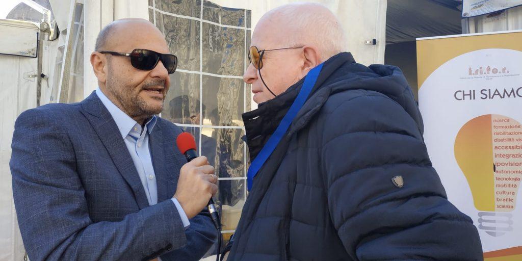 Il Presidente Nazionale Mario Barbuto e il responsabile stampa associativa Vincenzo Massa intervengono su Slash Radio per raccontare l'inizio della manifestazione foto 1