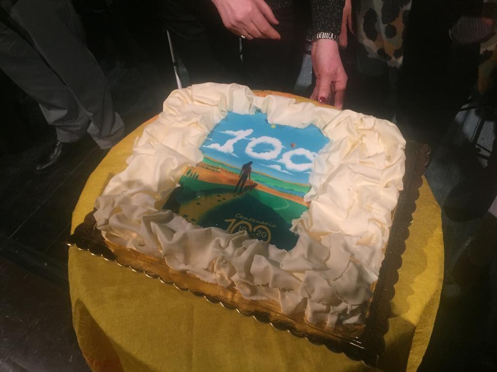 torta del Centenario